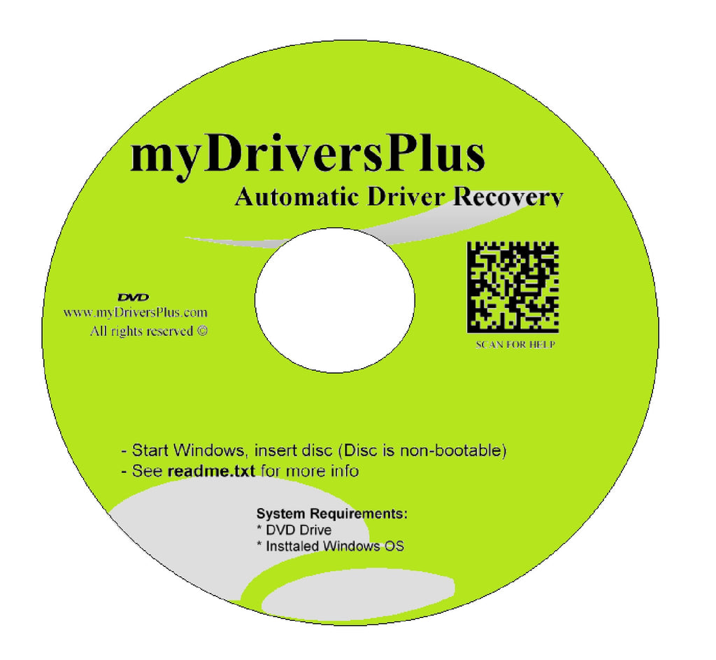 Dell XPS 15z (L511z) Drivers Recovery Restore Resource Utilities Software with Automatic One-Click Installer Unattended for Internet, Wi-Fi, Ethernet, Video, Sound, Audio, USB, Devices, Chipset ...(DVD Restore Disc/Disk; fix your drivers problems for Wind