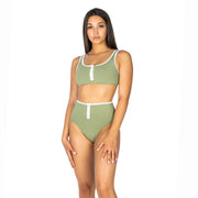 OLIVE TURTLE BOTTOM - byCassandre