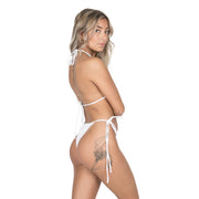 WHITE BASIC BOTTOM - byCassandre