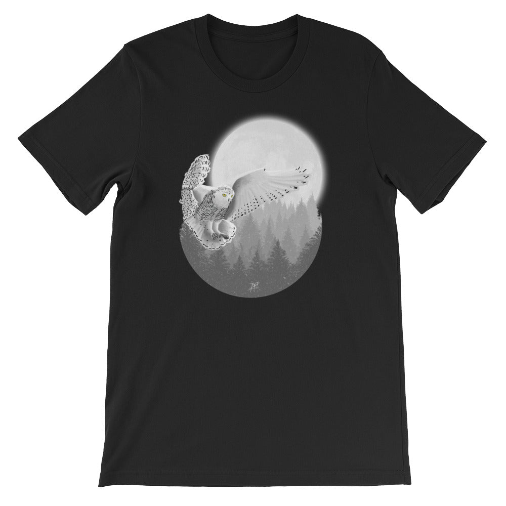 20570e13f Snowy Owl Short Sleeve Men's T-Shirt - Pixl Realm