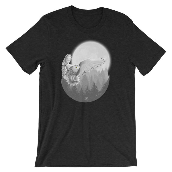 Snowy Owl Short Sleeve Men's T-Shirt