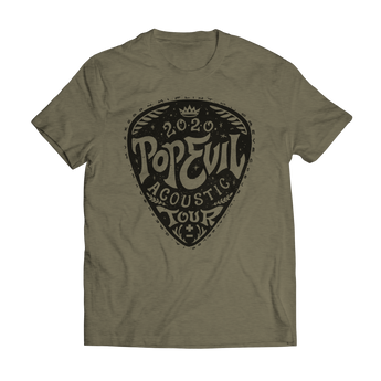 Guitar Pick 2020 Acoustic Tour Tee