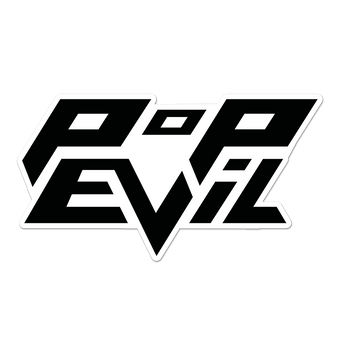 Pop Evil Logo Sticker