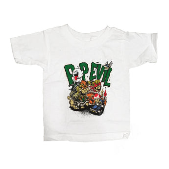 Cartoon Racing Kids Tee