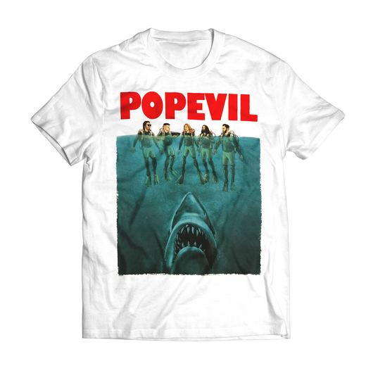 Shark Week White Tee