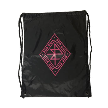Diamond Drawstring Bag