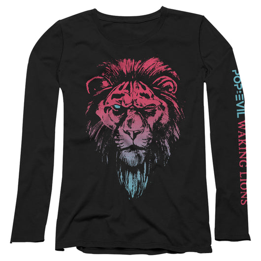Waking Lions - Ladies Long Sleeve