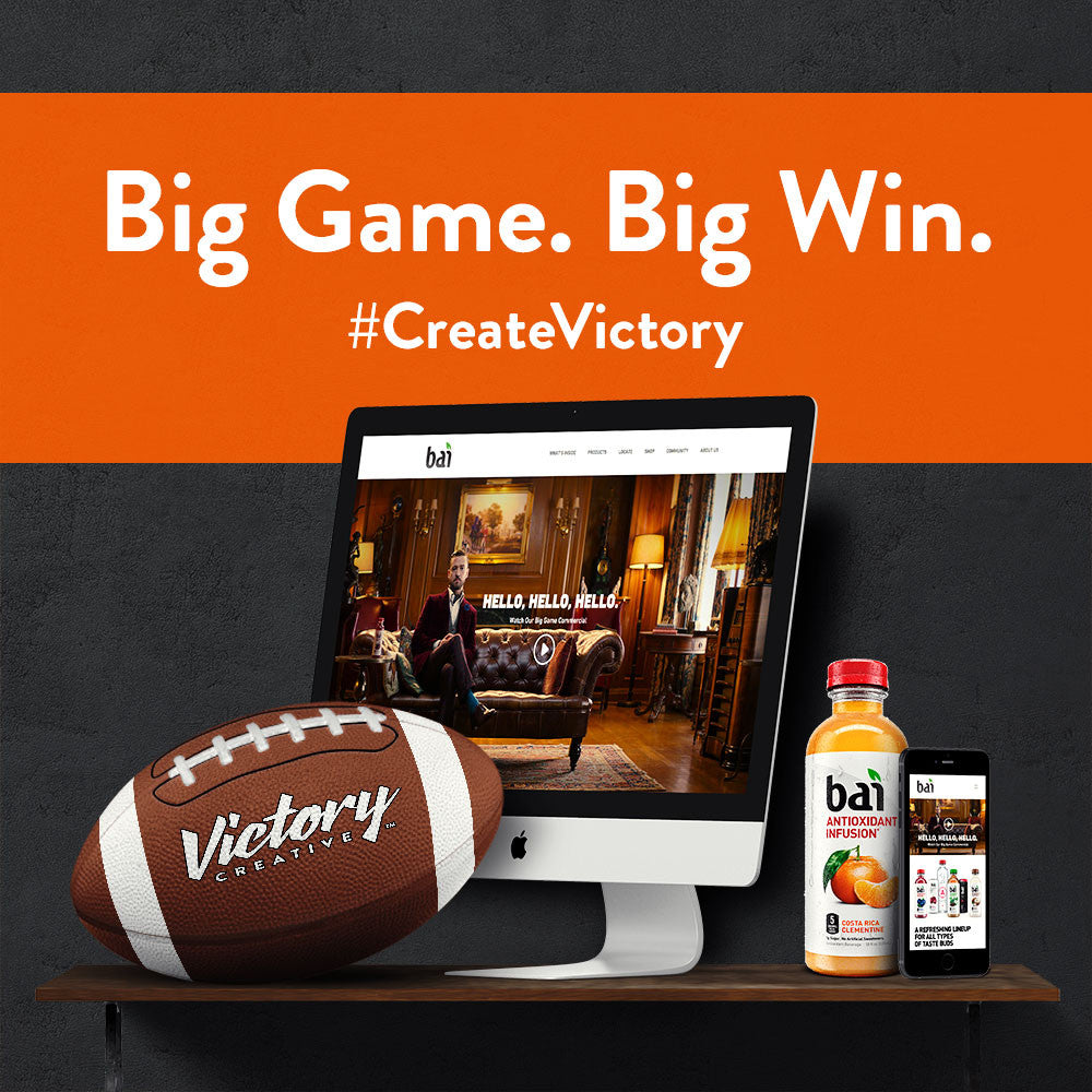 Victory Creative partners with Bai
