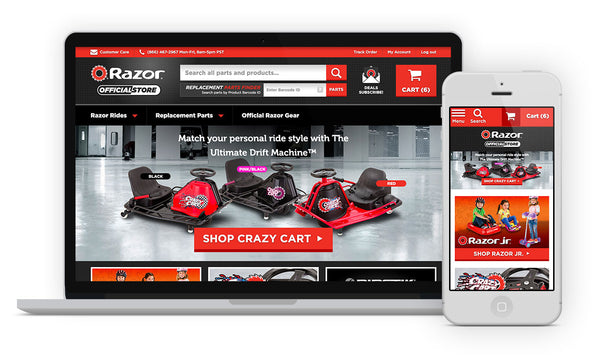 Victory Creative - Responsive Ecommerce Design & Development