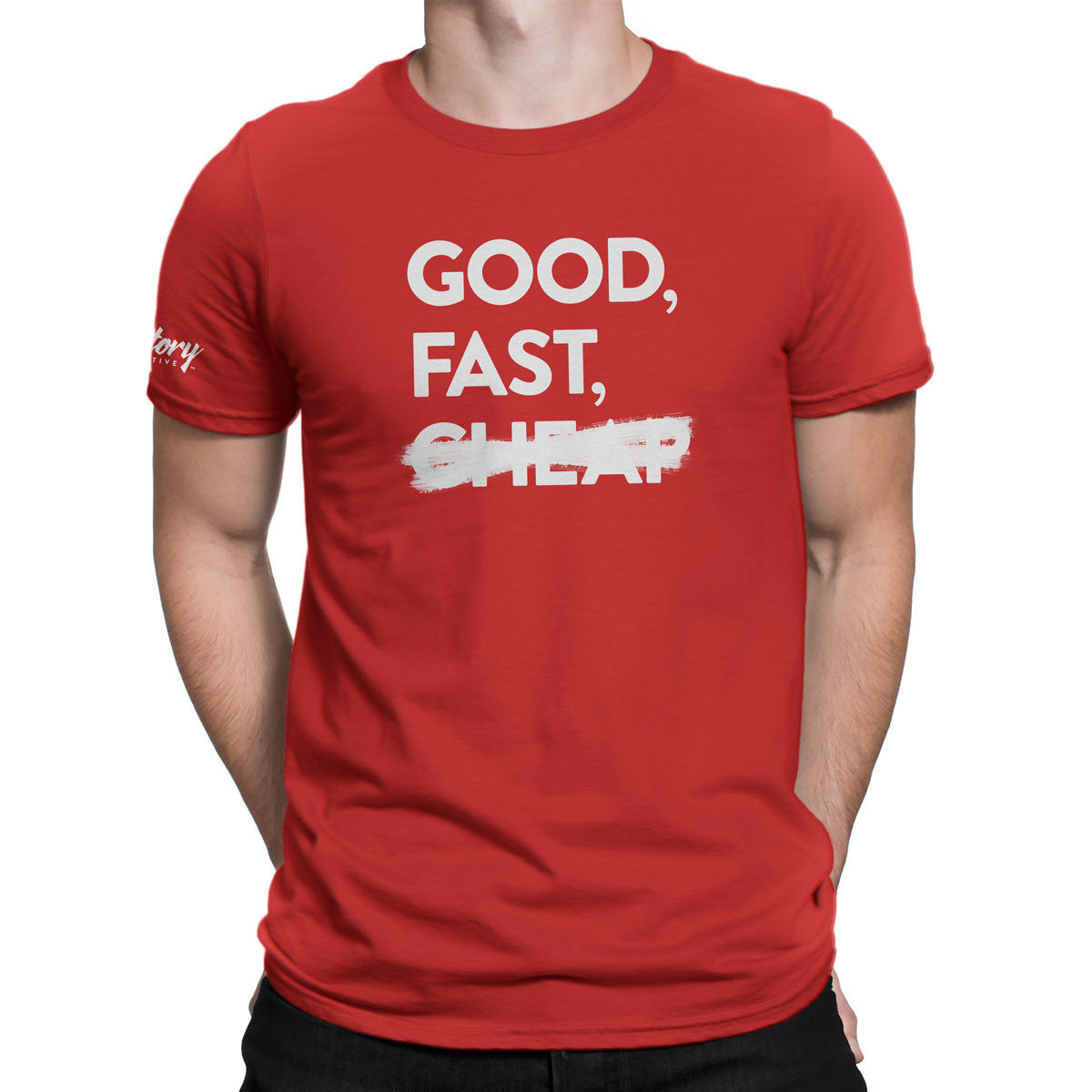 Good, Fast — Men's T-Shirt