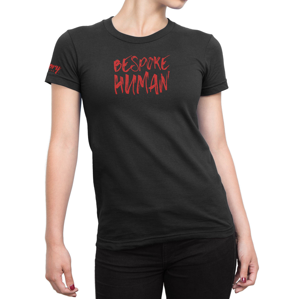 Bespoke Human — Women's T-Shirt (Black)