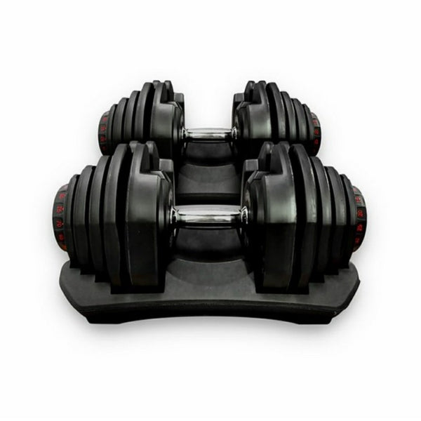 Adjustable Dumbbell Pair (10-90lbs)