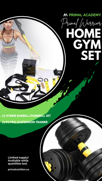 Home Gym Set: Set of Hybrid BB / DB & P3 Pro.