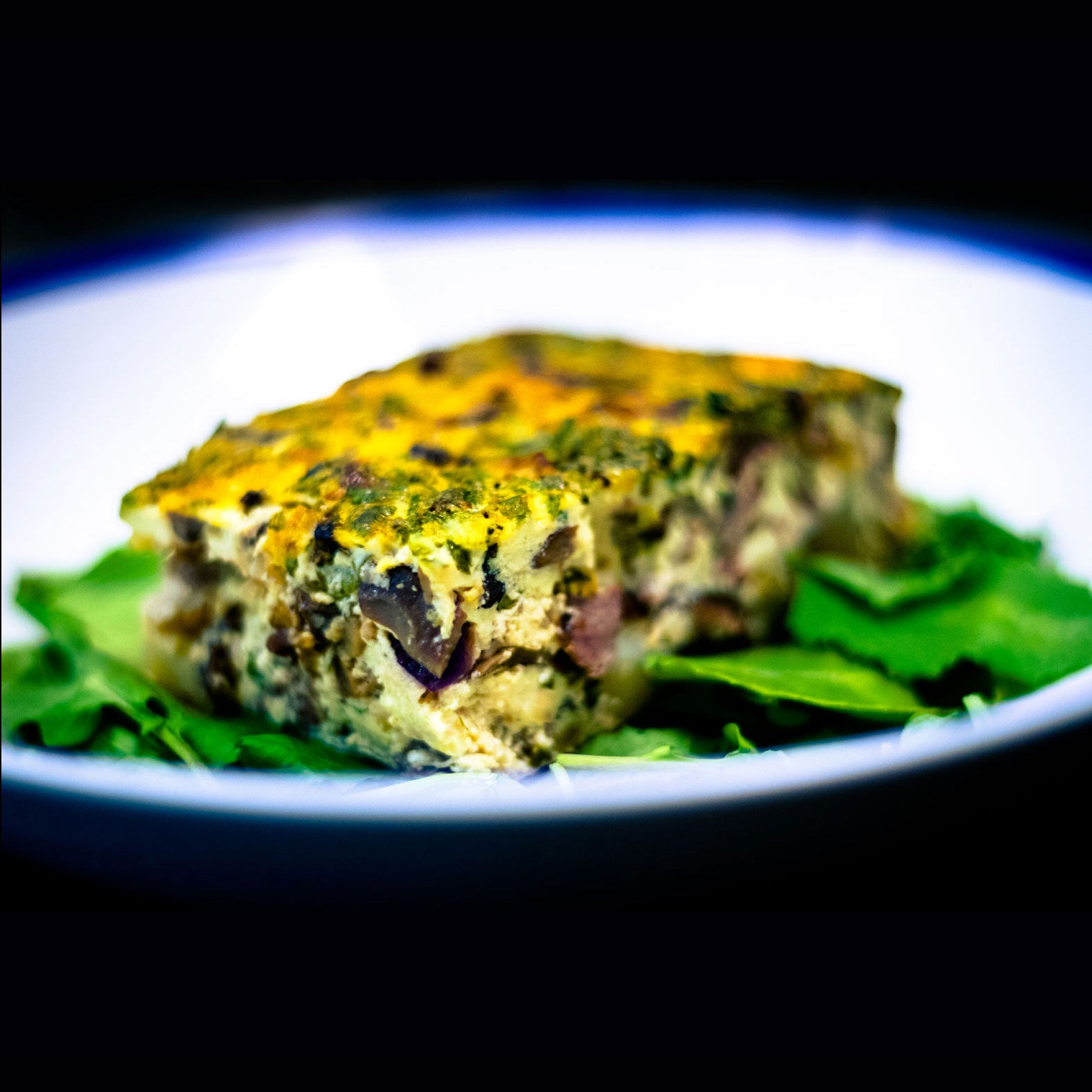 Steak and Mushroom Frittata