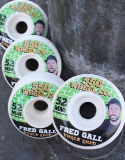 Ruedas 5-50 Fred Gall 'guest' 52mm - 5-50 Wheels - Aimé Moss Skateboarding Shop