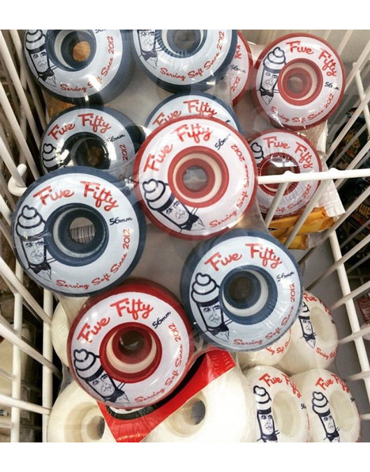 Ruedas 5-50 Softys 56mm Cruiser Wheels - 5-50 Wheels - Aimé Moss Skateboarding Shop