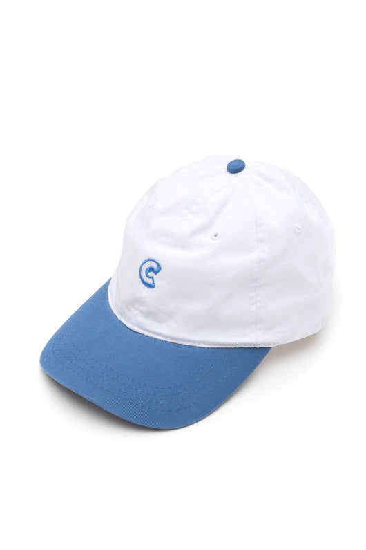 Chrystie C Logo Cap Sky Blue / White - Chrystie New York - Aimé Moss Skateboarding Shop