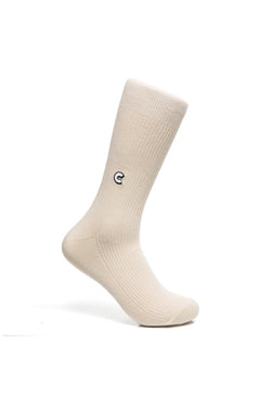 Chrystie Casual Socks Beige - Chrystie New York - Aimé Moss Skateboarding Shop