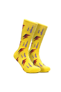 Chrystie RIP Socks Yellow - Chrystie New York - Aimé Moss Skateboarding Shop