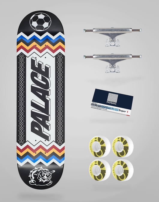 Skate Completo Palace Skateboards Team Black 8,25
