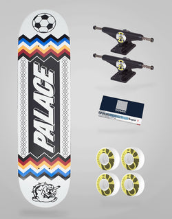 Skate Completo Palace Skateboards Team White 8,3