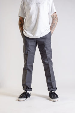 Dickies Industrial Work Pant Charcoal WP894CH - Dickies - Aimé Moss Skateboarding Shop
