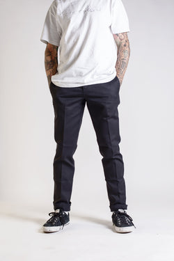 Dickies Slim Fit Work Pant Black WE872BK - Dickies - Aimé Moss Skateboarding Shop