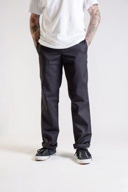 Dickies Slim Straight Rinsed Black - Dickies - Aimé Moss Skateboarding Shop