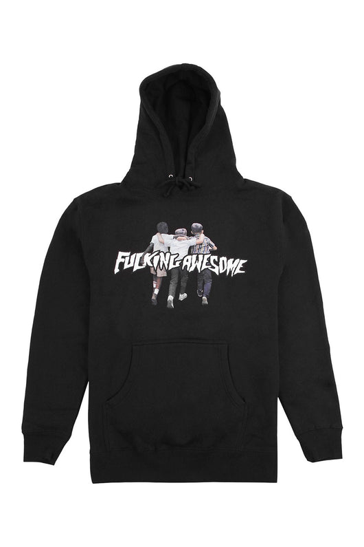 FA Friends Hoodie Black - Fucking Awesome - Aimé Moss Skateboarding Shop