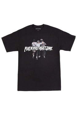 FA Friends Tee Black - Fucking Awesome - Aimé Moss Skateboarding Shop