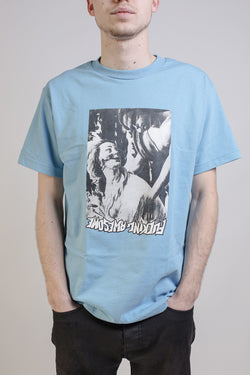 Fucking Awesome - Le Coer Tee Light Blue - Fucking Awesome - Aimé Moss Skateboarding Shop