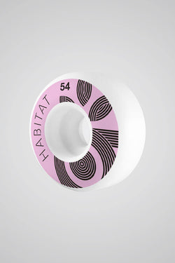 Habitat - Wreath Logo Wheels 54mm - Habitat Skateboards - Aimé Moss Skateboarding Shop