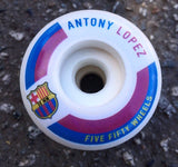 Ruedas 5-50 Antony Lopez 50mm - 5-50 Wheels - Aimé Moss Skateboarding Shop