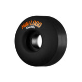 Ruedas Mini Logo 53mm C-Cut Black - Mini Logo - Aimé Moss Skateboarding Shop