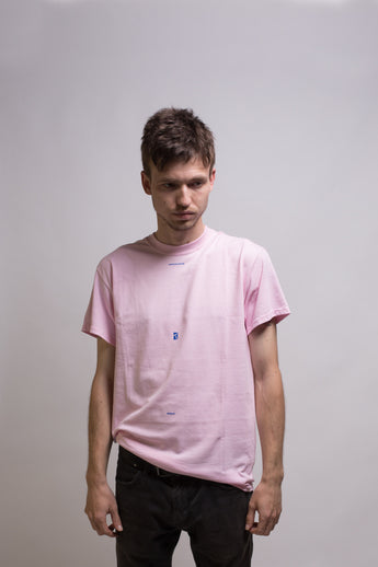 Poetic Collective - Minimalism Tee Pink - Poetic Collective - Aimé Moss Skateboarding Shop