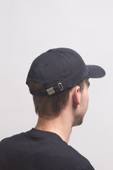 Poetic Collective - Six Panel Cap - Black White - Poetic Collective - Aimé Moss Skateboarding Shop