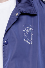 Polar Doodle Jacket Dane Navy - Polar Skate Co. - Aimé Moss Skateboarding Shop