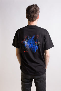 Quasi - Carl Tee Black - Quasi Skateboards - Aimé Moss Skateboarding Shop