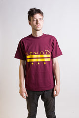 Quasi - District Tee Burgundy - Quasi Skateboards - Aimé Moss Skateboarding Shop