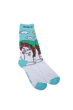 Ripndip Cuddle Socks (Multi) - Ripndip - Aimé Moss Skateboarding Shop