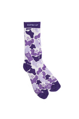 Ripndip Invisible Socks Purple - Ripndip - Aimé Moss Skateboarding Shop