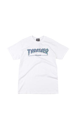 Camiseta Thrasher GX-1000 White - Thrasher - Aimé Moss Skateboarding Shop