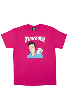 Thrasher Gonz Cover Pink Tee