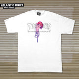 Thrasher Atlantic Drift Tee White - Thrasher - Aimé Moss Skateboarding Shop