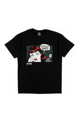 Thrasher New Boyfriend Tee Black - Thrasher - Aimé Moss Skateboarding Shop