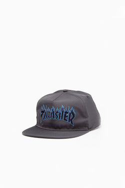 Gorra Thrasher New Flame Gray - Thrasher - Aimé Moss Skateboarding Shop