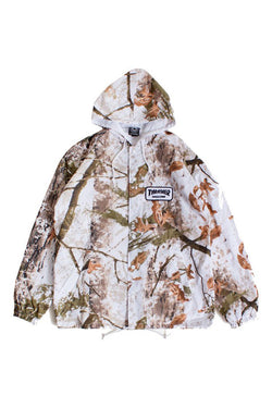 Thrasher - Patch Coach Jacket Snow Camo - Thrasher - Aimé Moss Skateboarding Shop