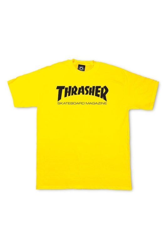Thrasher Skate Mag Tee Yellow - Thrasher - Aimé Moss Skateboarding Shop