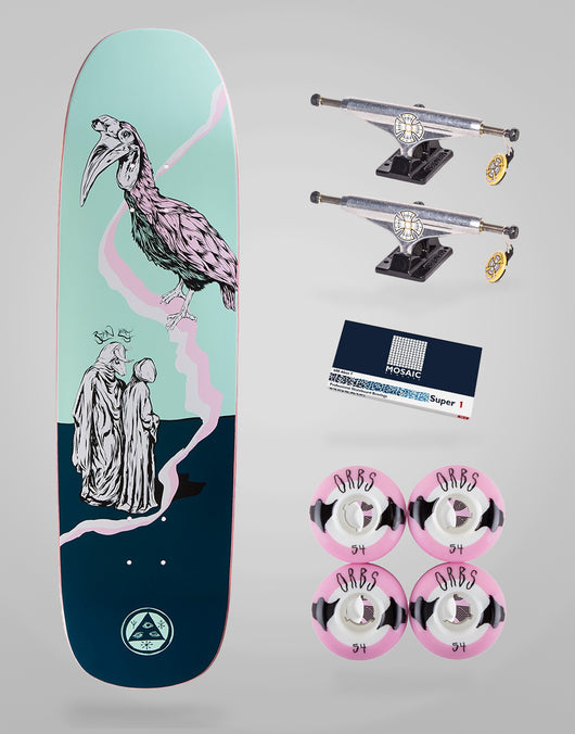 Skate Completo Welcome Skateboards Ryan Lay 8,6
