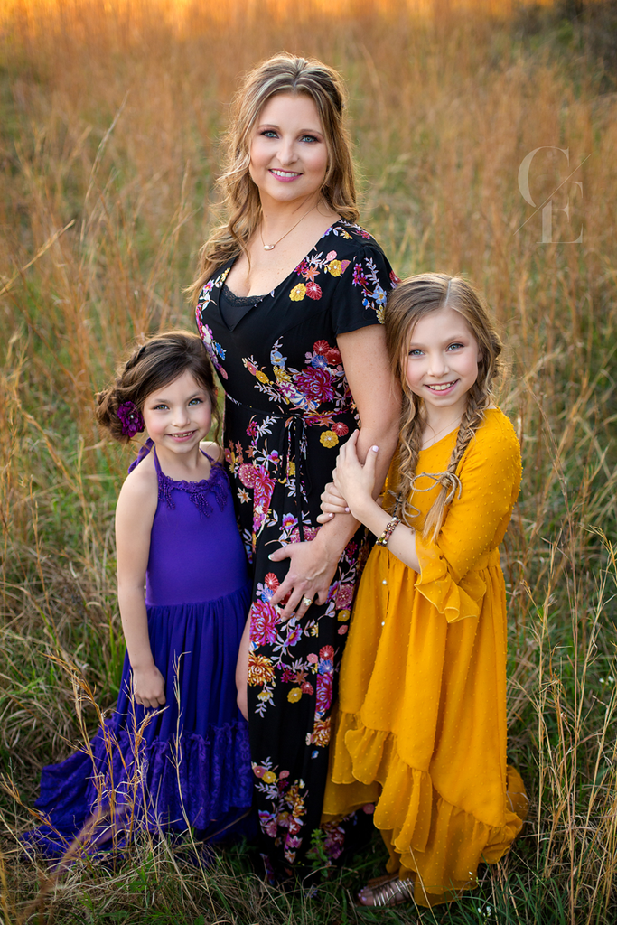 bohemian mommy and me photoshoot photography idea - Belle & Kai